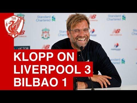 Jurgen Klopp Post-Match Press Conference  - Liverpool 3-1 Athletic Bilbao