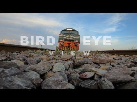 Pakistan Train Bird Eye View  Drone 4K | Pakistan Railway