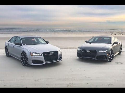 2016 Audi RS 7 and S8 Plus Performance - YouTube