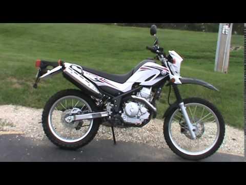 2010 Yamaha XT 250 - YouTube