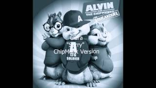 "Ciara ""Sorry"" ChipMunk/Chipettes Version w/Lyrics"