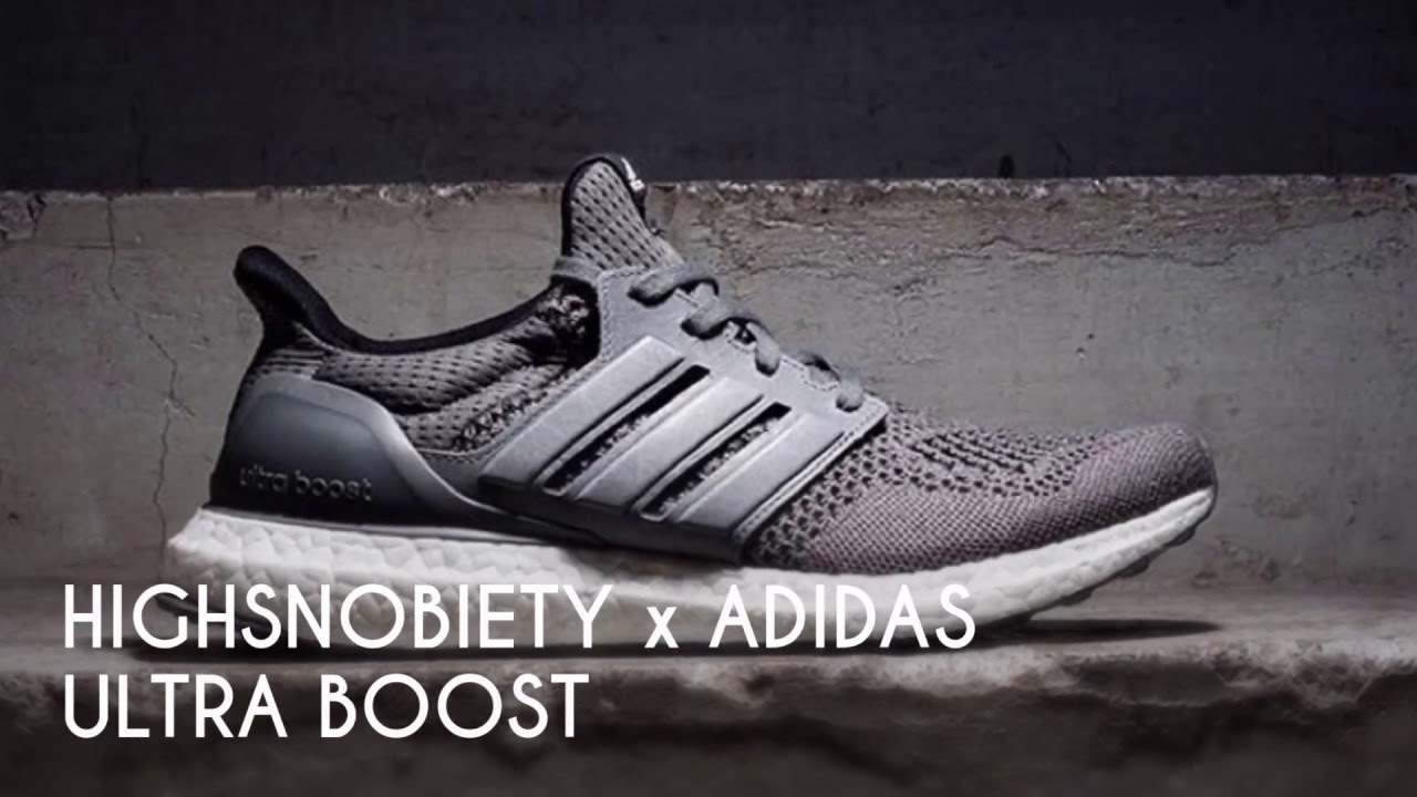 c9bb6fcacb5 HIGHSNOBIETY x ADIDAS ULTRA BOOST  SNEAKERS T - YouTube