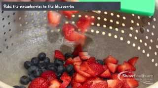 Diabetic Recipe - Strawberry Blueberry Crunch - Margaret Craig, Shaw Star Award Winner 2014