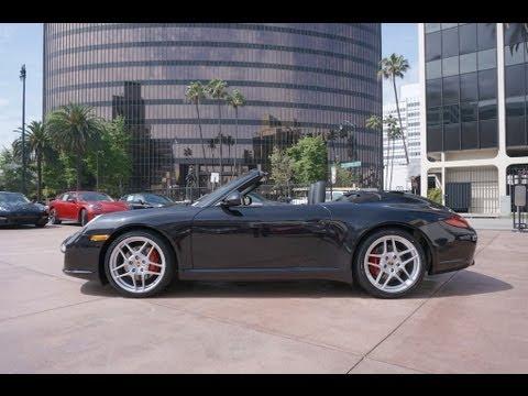 Carrera S Cabriolet  Basalt Black K Mi In Beverly Hills Porscheconnection