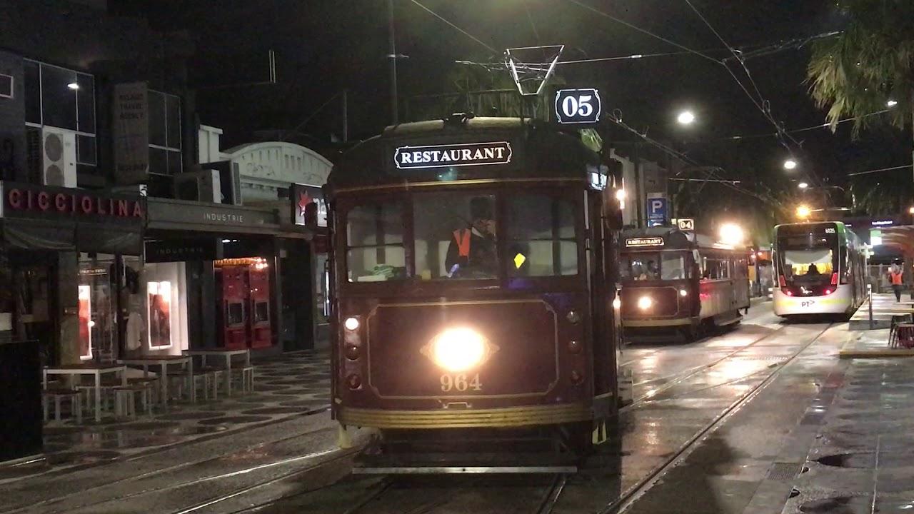 melbourne 39 s restaurant trams youtube. Black Bedroom Furniture Sets. Home Design Ideas