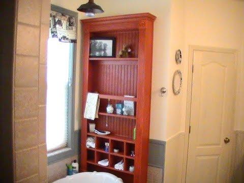 fancy bathroom cabinet build with chud327