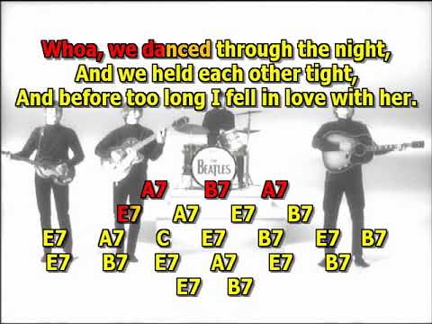 I Saw Her Standing There  Beatles Mizo Vocals  Lyrics Chords Cover