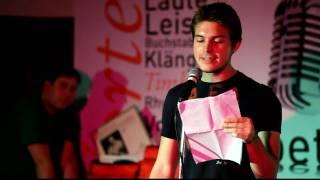 Poetry Slam Ulm: Daniel Wagner