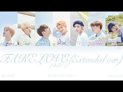 [HAN|ROM|ENG] BTS (방탄소년단) - FAKE LOVE (Rocking Vibe Mix) (Color Coded Lyrics)