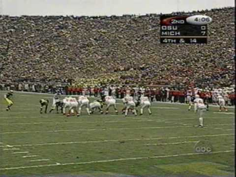 Desmond Howard & Charles Woodson  punt returns against Ohio State