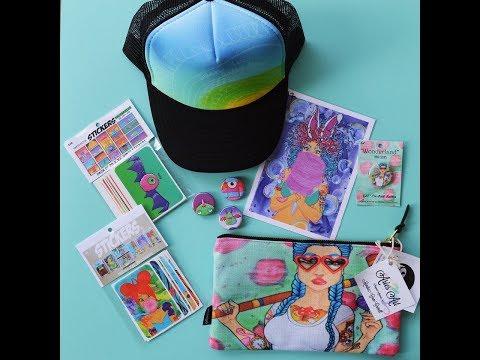Monthly art subscription service- Sponsor an artist- Aries Art Perks Package Program