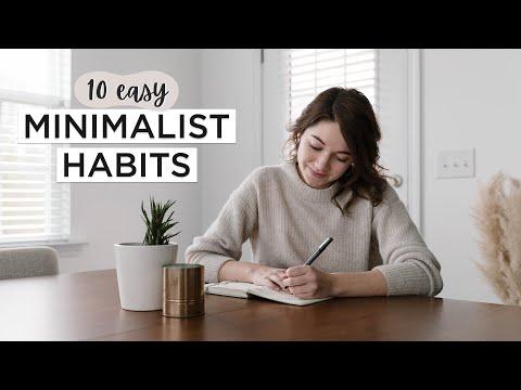 10 MINIMALIST HABITS That Will Transform Your Life