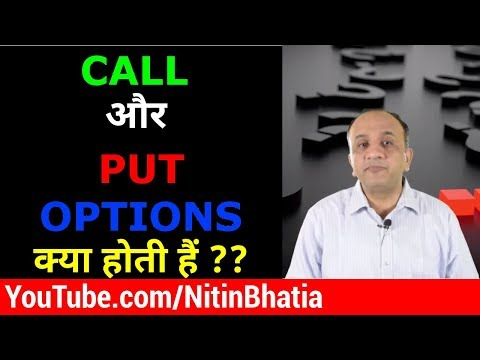 CALL And PUT Options Trading For Beginners In Stock Market (Hindi)