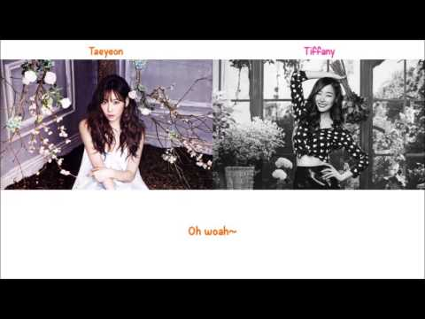 Lost in Love - Taeyeon & Tiffany (of SNSD) Lyrics [ENG+ROM]