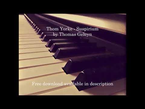 Thom Yorke - Suspirium HQ instrumental cover