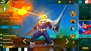 [Gcaothu] Khám phá sức mạnh vị tướng mới có nhiều kĩ năng nhất Liên Quân - Siêu nhân Superman