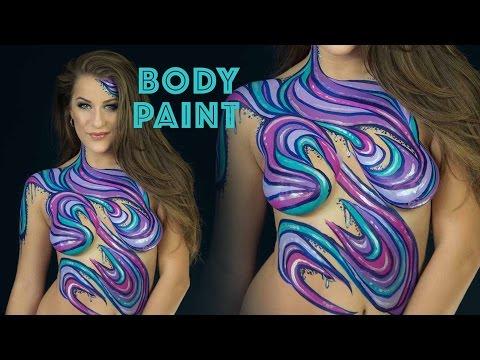 Body Painting w/ Molly Balloons | Elsa Rhae