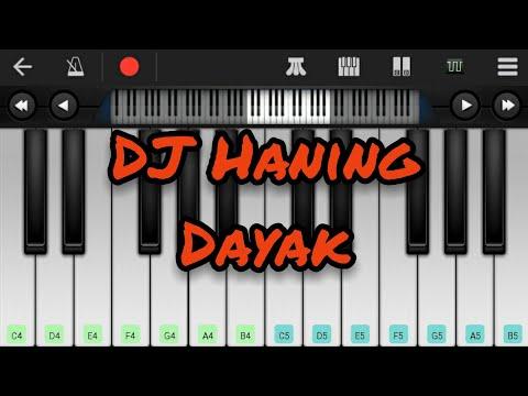 DJ Haning Dayak | Perfect Piano Cover