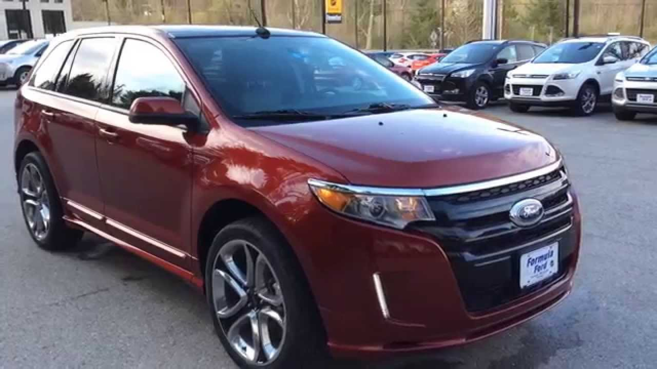 2013 Ford Edge Sport AWD in Ruby Red Metallic from Formula Ford in