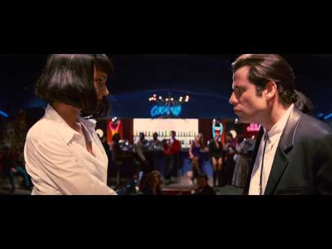 Pulp Fiction (1994) John Travolta - Uma Thurman Dance Scene [HD]