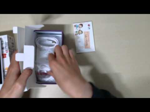 LG Gx (LG-F310L) 개봉기 (4K, HD)