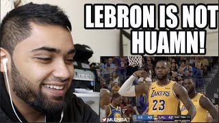 LeBRON JAMES IS UNREAL! LOS ANGELES LAKERS vs GOLDEN STATE WARRIORS FULL GAME HIGHLIGHTS REACTION!