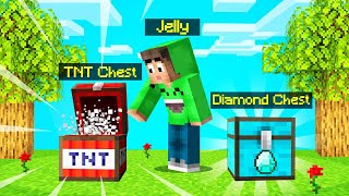 I BUILT 10 *NEW* CHESTS In MINECRAFT! (Free Loot)