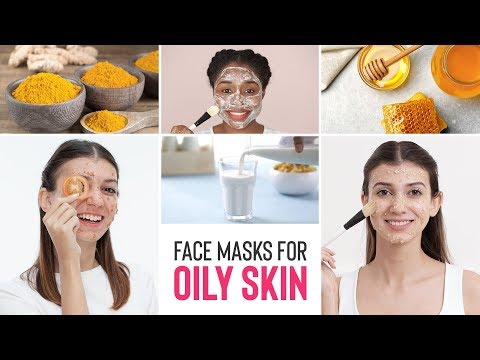 DIY Face Masks For Oily Skin | Home Remedies For Glowing Skin