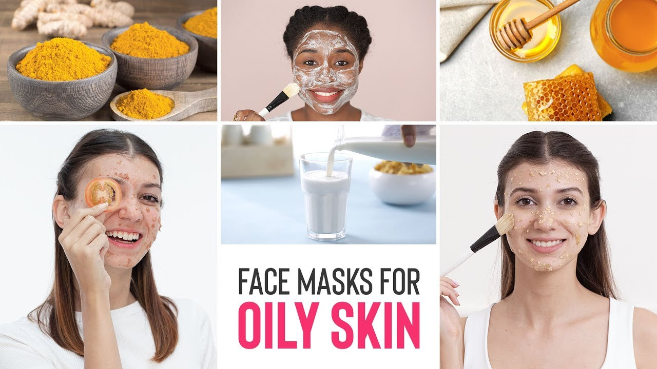 DIY Face Masks For Oily Skin  Home Remedies For Glowing Skin