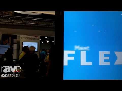 DSE 2017: Keyser Talks About FLEX Flexible Signage Solutions