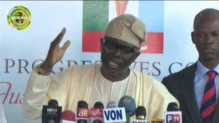 WHY I WANT TO BE GOVERNOR OF LAGOS-SANWOOLU