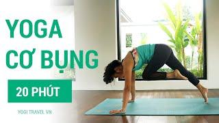 20 phút Yoga giảm cân, giảm mỡ bụng, săn chắc vòng eo |  bài tập Yoga tại nhà