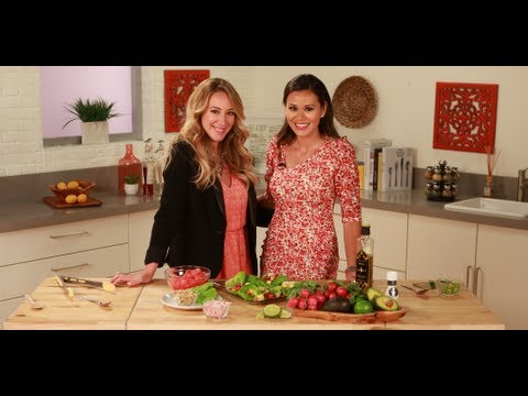 Haylie Duff's Watermelon, Radish, and Avocado Tacos | Healthy Recipes | Food How To