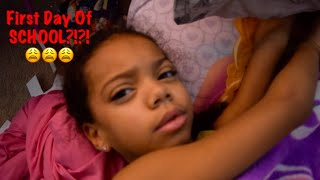First Day of School! Scared Middle Schooler! Strange Breakfast! Kids Funny Moments! Late Buses!