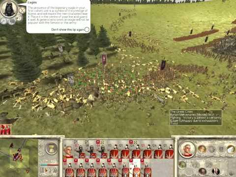 Starting a campaign in Rome: Total War with Darthmod ...