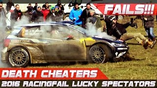 DEATH CHEATERS! Lucky Spectators of 2016 Compilation
