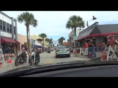Biketoberfest 2013 Daytona Beach main street!