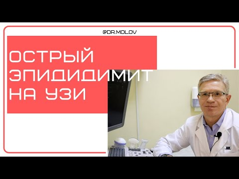 Эпидидимит,  при УЗИ мошонки