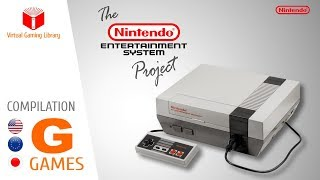 The NES / Nintendo Entertainment System Project - Compilation G - All NES Games (US/EU/JP)
