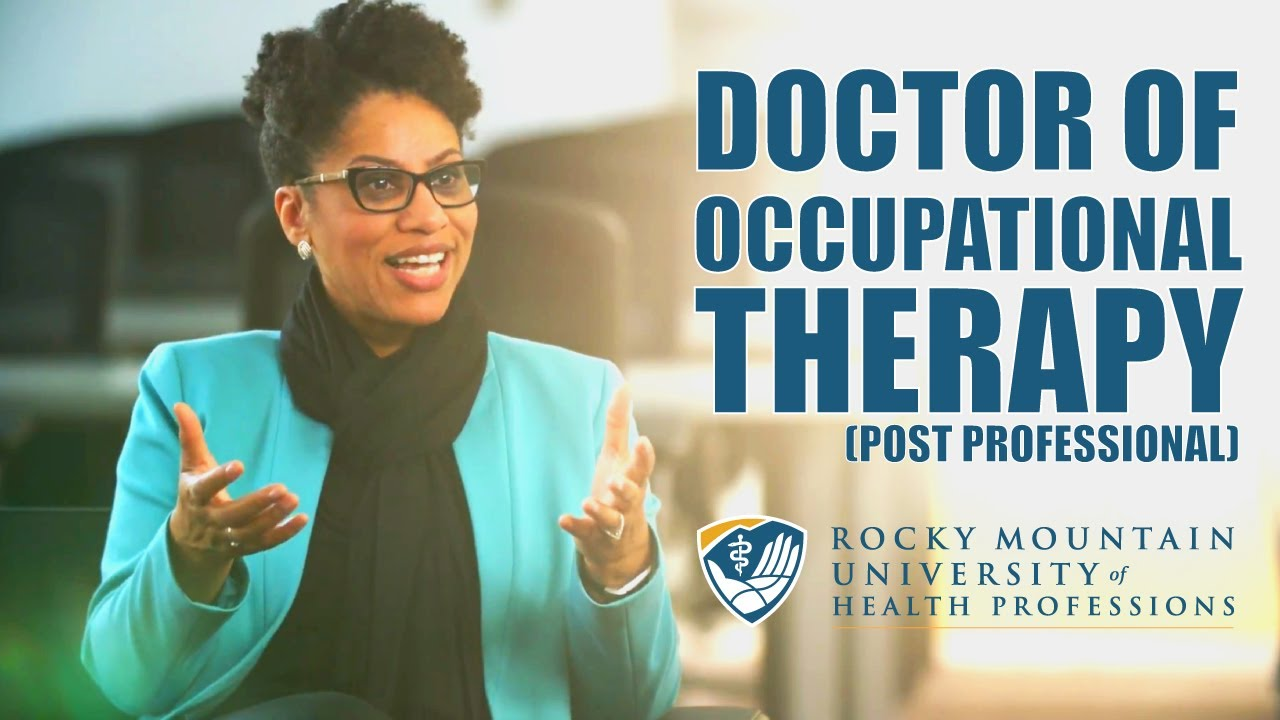 Doctor of Occupational Therapy (Post-Professional) | Rocky Mountain
