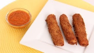 Homemade Mozzarella Sticks Recipe - Laura Vitale - Laura in the Kitchen Episode 597
