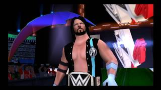 AJ Styles Entrance WM 34 - WWE SvR 2011/2k18 PSP