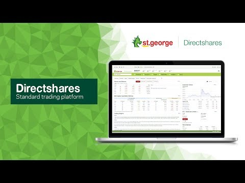 Directshares   Online Share Trading   St George Bank