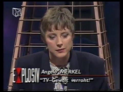 Damals Merkel Auf Dem Heissen Stuhl 1992 Youtube
