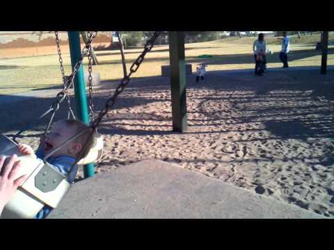Dean still swinging