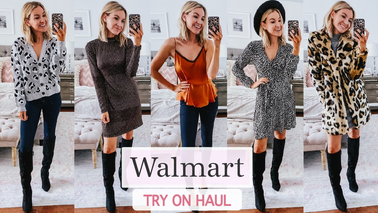 [VIDEO] - Holiday Party Outfit Ideas with Walmart   Walmart Try On Haul 2019 4