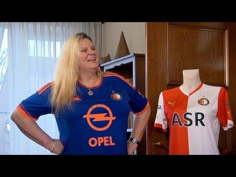 Moeder Jolanda draagt alleen maar Feyenoord-kleding - HOTTER THAN MY DAUGHTER