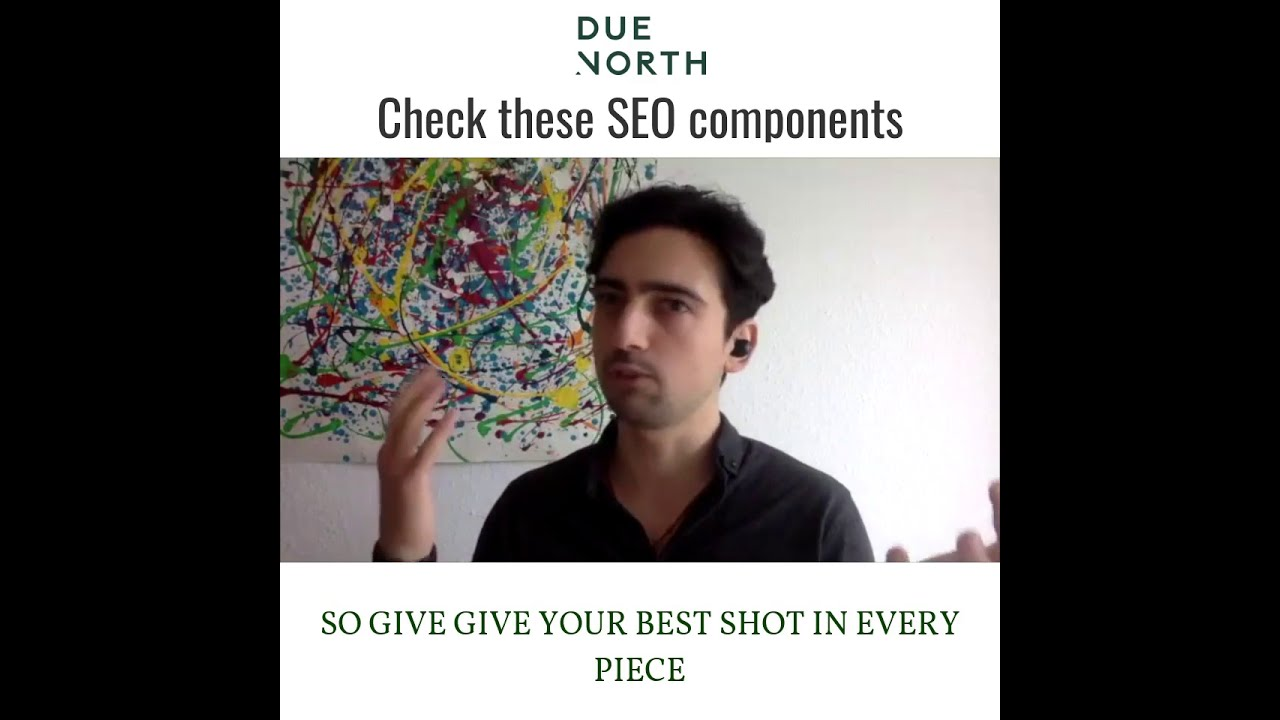 Check these SEO core components on your website