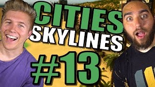 Cities Skylines: Gameplay [Mods] After Dark & Snowfall | Traffic and Tips Tutorial– Part 13