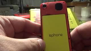 Lephone K7 дешевле чем в Китае обзор самого дешевого телефона